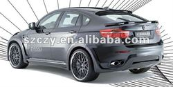 high-quality and first-class PU tail wing of car part for BMW X6