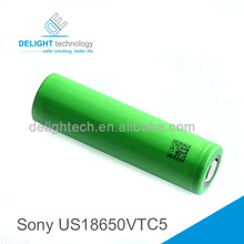 High Quality Battery Sony US18650 Vtc 5 with High Power Battery Cell for e-cigarette