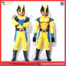 Pgcc1661 venta al por mayor buzz lightyear traje de la mascota wolverine traje niños cosplay traje