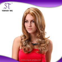Quality guaranteed japanese kanekalon fashionable keira wavy synthetic wig