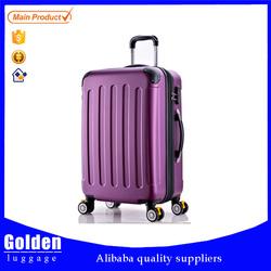 Hebei Baigou cheap customized hard side luggage, trolley luggage bag, travel suitcase