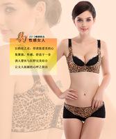 Шаньтоу сексуальная леопардовым принтом белье производителя Воздушный хлопок нижнее белье Трусы поддерживая трусы