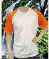 blank sublimation polyster T-shirt