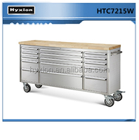 """2015 hot sale 72"""" 15drawers us general tool box parts stainless steel garage"""