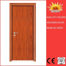 Best Quality Factory Sale Wooden Doors,entrance gate grill designs home SC-W029