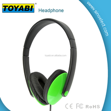 High Definition Stereo Foldable Headphones with Noise Isolation Ear Cups