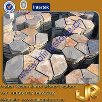Natural Slate Stone Outdoor Tiles for Driveway