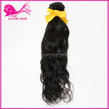 Hot sell european hair extensions noble weaving premium natural human hair with tangle free