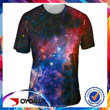 The Imaginary Foundation Sublimated Print Men Black T-Shirt of Space Galaxy Cosmos