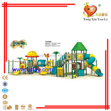TX3044B outdoor children plastic used playground slides for sale