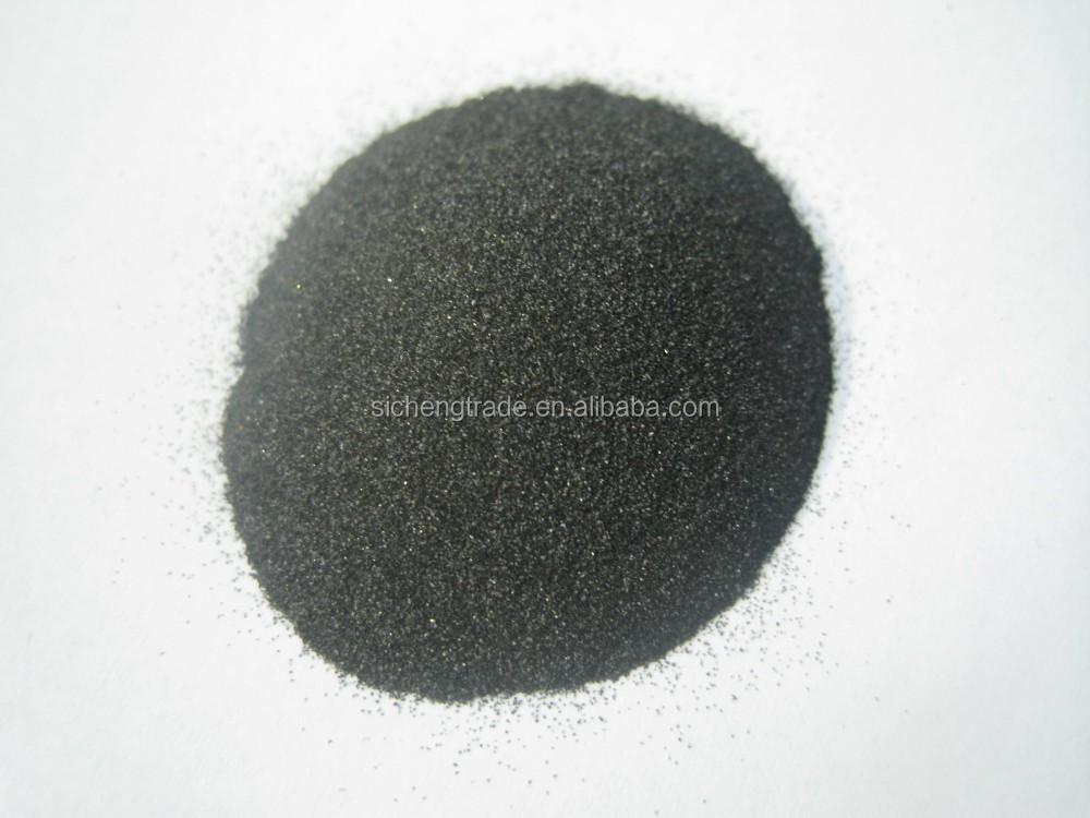High Alumina Sand : High density black fused alumina for sand blasting polishing