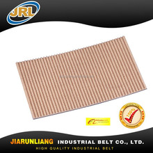 6.5mm beige rubber conveyor belt for paper industry