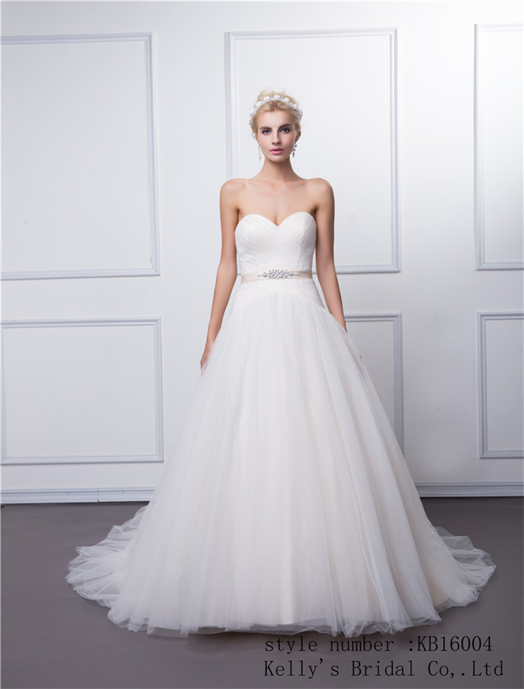 Kb16004 Fashion New Greek Style Wedding Dresses With Beaded Sash And ...