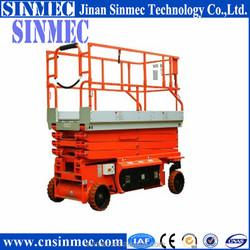 SINMEC hydraulic scissor lift for self propelled scissor lift SPJC0.5-8