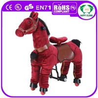 New 2014 HI Hot selling promotion high quality mechanical horse with wheels saddles for sale