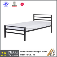 simple design metal single bed from Foshan