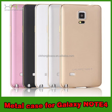 Mobile Phone Metal case for samsung galaxy note 4