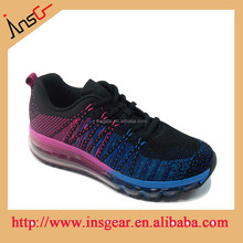 2015 hottest wholesale air knit running shoes brand