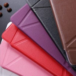LETSVIEW Top Selling Best Rated PU Flip Stand Leather Case Transformers Durable Premium Back Cover for Ipad Mini 1/2/3