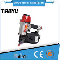15 degree Wire Collated penumatic Pallet Coil Nailer CN565B
