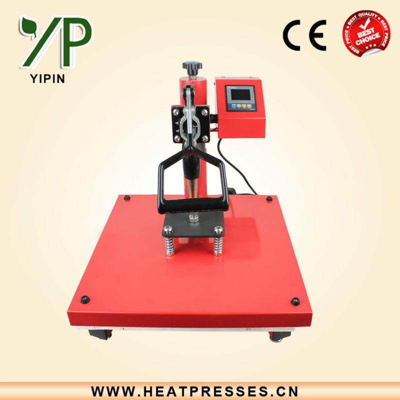 Smart design cheap used t shirt heat press machine for T shirt manufacturing machine in india