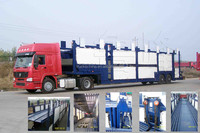 High Performance China Brand Lufeng car carrier semi trailer For Sale