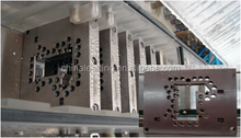 Plastic product mold for window door profiles