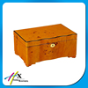 Special Design Orange Solid Wooden Jewelry/Watch Box