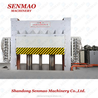 4x8ft plywood production line 4x8ft particle board hot press machine 4x8/plywood veneer press/Furniture melamine paper hot press