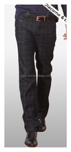 China Factory OEM customized Men's High Quality Checked casual jeans, men pants