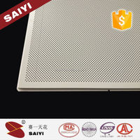 Roof decorative different types of aluminum composite ceiling board