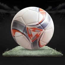 Machine stitched custom logo print cheap pvc soccer balls in bulk