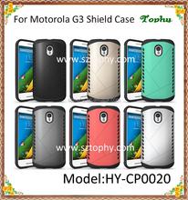 For Motorola G3 Shatterproof Aegis Armor Case Cover 2 in 1 Multi-Function Hybrid Combo