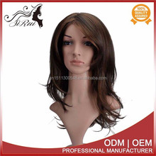 100% Japan kanekalon synthetic natural looking wigs, wholesale price wigs freetress hair