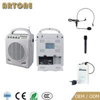 Wireless mics sound system Portable teacher amplifier mini sound voice amplifier