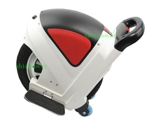 Free of space and environmental restrictions hand free personal motor scooter