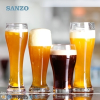SANZO Novelty High-end Soccer Ball Shaped Beer Glass Promotion