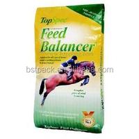 china high quality 25kg plastic animal feed bags