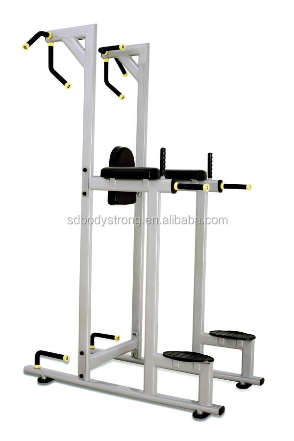 vertical knee raise machine