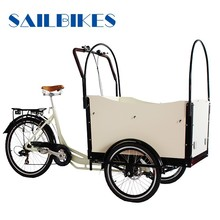 e electric vespa tricycle cargo with box