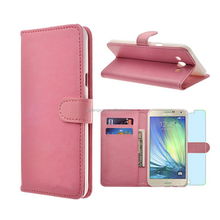 Hot sale Wallet Card Slot View PU leather stand case for Samsung Galaxy A8