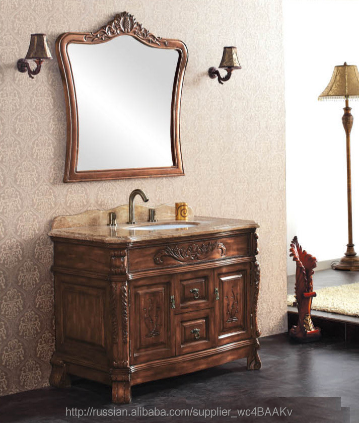Wood Furniture Classic High Luxury Bathroom Cabinets Used Bathroom Vanity Cabinets Buy Wood