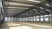 light steel structure easy installation low price light structure roof design