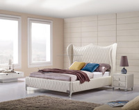 Home Furniture Soft Leather Bed For Bedroom 516A