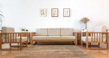 Contemporary branded arabic solid wood sofa set design