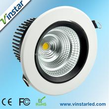 Vinstar 9w 15w 18w 25w 27w 30w 40w 45w 50w 75w 80w led downlight recessed adjustable