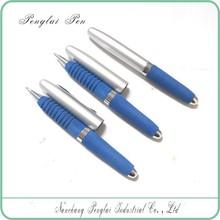2015 Promotional Chrome Metal Mini Short Style soft body pen Eva Foam Ball Pen