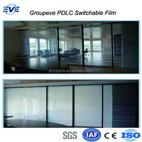 Switchable Electric Glass For Office Partition