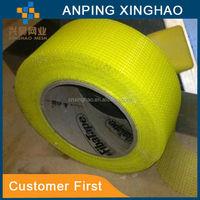 blue fiberglass adhesive waterproof mesh tape with 8mm *8mm ,65g 3m adhesive fiberglass plaster mesh tape