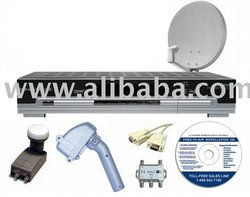 Sonicview 8000 High Definition MOTORIZED FTA Satellite System #1